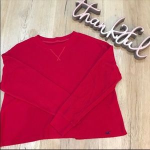 Hollister Must Have Collection Thermal Crop Top